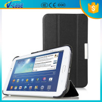 VCASE Flip Leather + Hard PC Cover Tablet Cover Case for Samsung Galaxy Tab 3 7.0 P3200