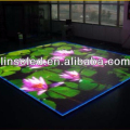 indoor LED flooring from LINSO LED for exhibition show