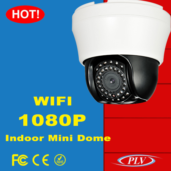 1920*1080 full hd 2.8-12mm motorized zoom 1080P indoor dome cctv ip wifi ptz home security camera
