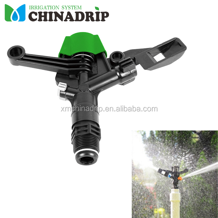 Garden Lawn Irrigation Agriculture plastic impact sprinkler