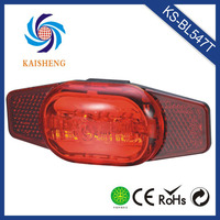 new design red cycle rear light