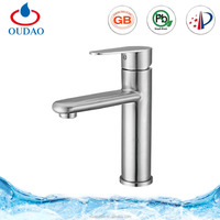 Water Faucet Wash Basin Mixers With 5 Years Guaranty