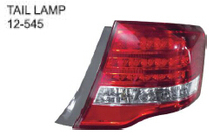 12-545 FOR TOYOTA COROLLA AXIO/FIELDER 06'-08' Auto Car tail lamp tail light