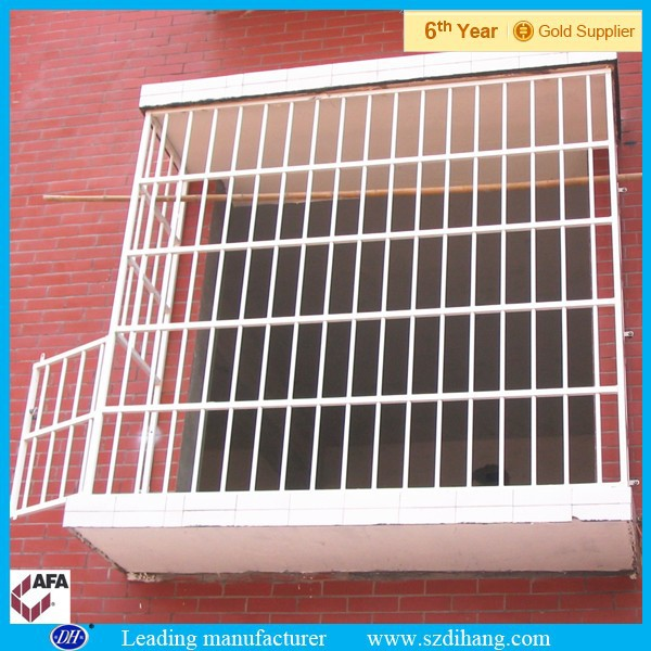Window steel grill design simple