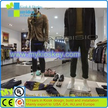 Made in China modern shopping mall pop up garment display