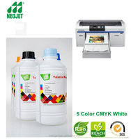 250ml 500ml 1liter ink textile digital printing ink pigment ink for epson f2000 SureColor DTG SCF2000 direct to garment printer
