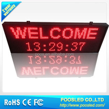 led message board signs \ electronic scrolling message board \ scrolling message text led display screen