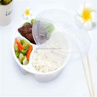 Disposable plastic tray Take away food packaging container