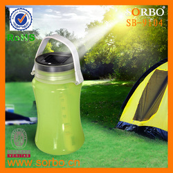 2016 Best Selling High Power Solar Lantern Silicone/Waterproof Portable LED Solar Lantern