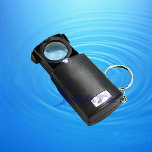 MG21008A 20X LED Light Diamond Magnifier with Keychain