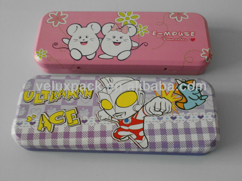 Pencil Tin Box, Pencil Case, Metal Tin Pencil Box