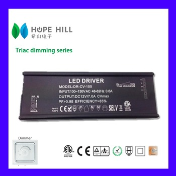 Constant Current 2300mA 100W Triac Dimmable LED Driver