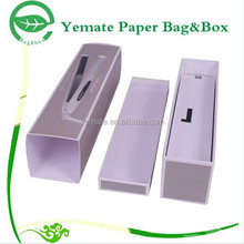 Packaging Box Direct Supplier! high end luxury decorative custom printed paper box sleeves and tray