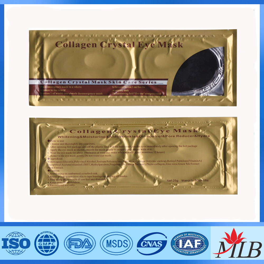<strong>q10</strong> collagen crystal gel hot cold compress eye mask pads