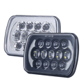 Auto sealed beam manufacturers, square led headlight 5x7