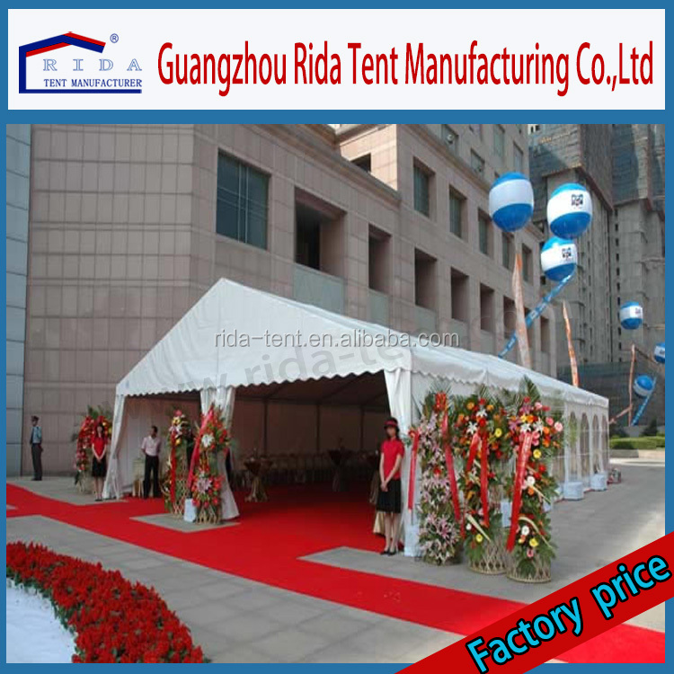 Guangzhou wedding tent indoor decotation design marquee party tent curtains