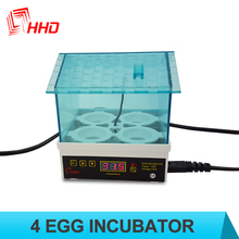HHD YZ9-4 broiler chicks rate chicken egg incubator for hatching eggs