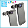 Portable 360 degree 3 In 1 clip-on fishy eye lens for iphone 6 6plus 5s 4s