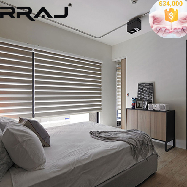 RRAJ Day Night Double Roller Blinds