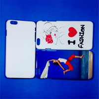 JESOY Wholesale Mobile Phone Accessory For iphone 6 3D Sublimation Case Cover
