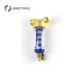 factory high quality stainless steel filter element inline water filter and gauge