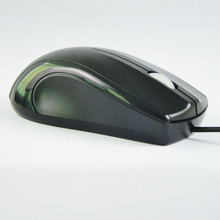 Wired black color comfortable optical usb mouse for computer