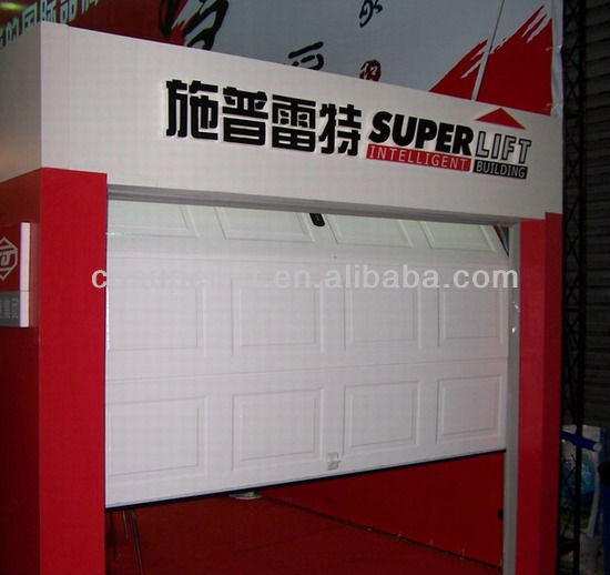China Professional Manufacturer Of Overhead Sectional Garage Doors