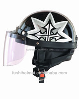 New design for lightweight mini motorbike helmet used the sales