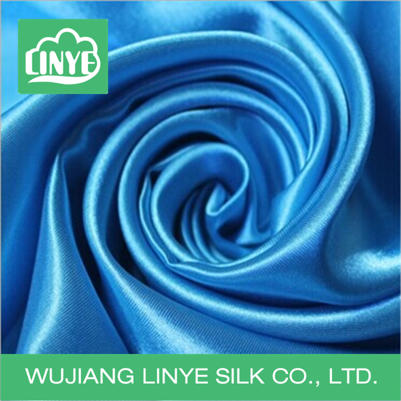 factory custom polyester satin fabric clothing garment fabric textile