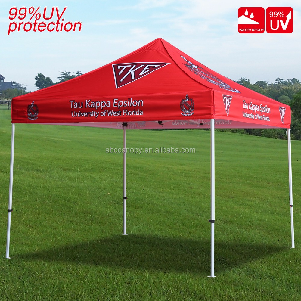 New Halloween Decorate Customized Dye Sublimation Printing Marquee Canopy , Outdoor Easy Up Custom Printed Canopies