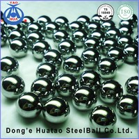440C high hardness corrosion resistant stainless steel ball for bearings and valve Pump