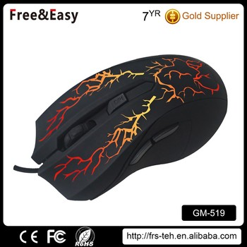 Best ergonomic 6D gaming mouse with wired