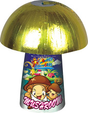 christmas mushroom ground safety multi color fountain new year fany fireworks (MP11)