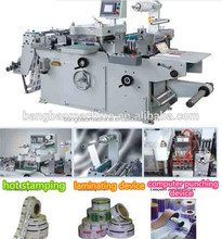 TXM-320 high precision Die-cutting Machine Type and Yes Computerized laser label die cutting machine factory for sale