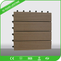 JFCG Wood WPC Decking for Outdoor Plastic Composite Decking