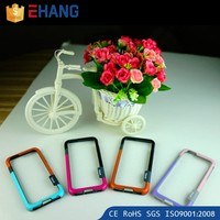 Mobile phone part two-tone round edge bracelet frame bumper case cover for iphone 5