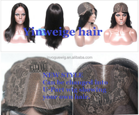Multifunctional Human Hair Wigs 100% Virgin Hair Lace Front Wig For Black Women Unprocessed Brazilian Hair U Part Wig