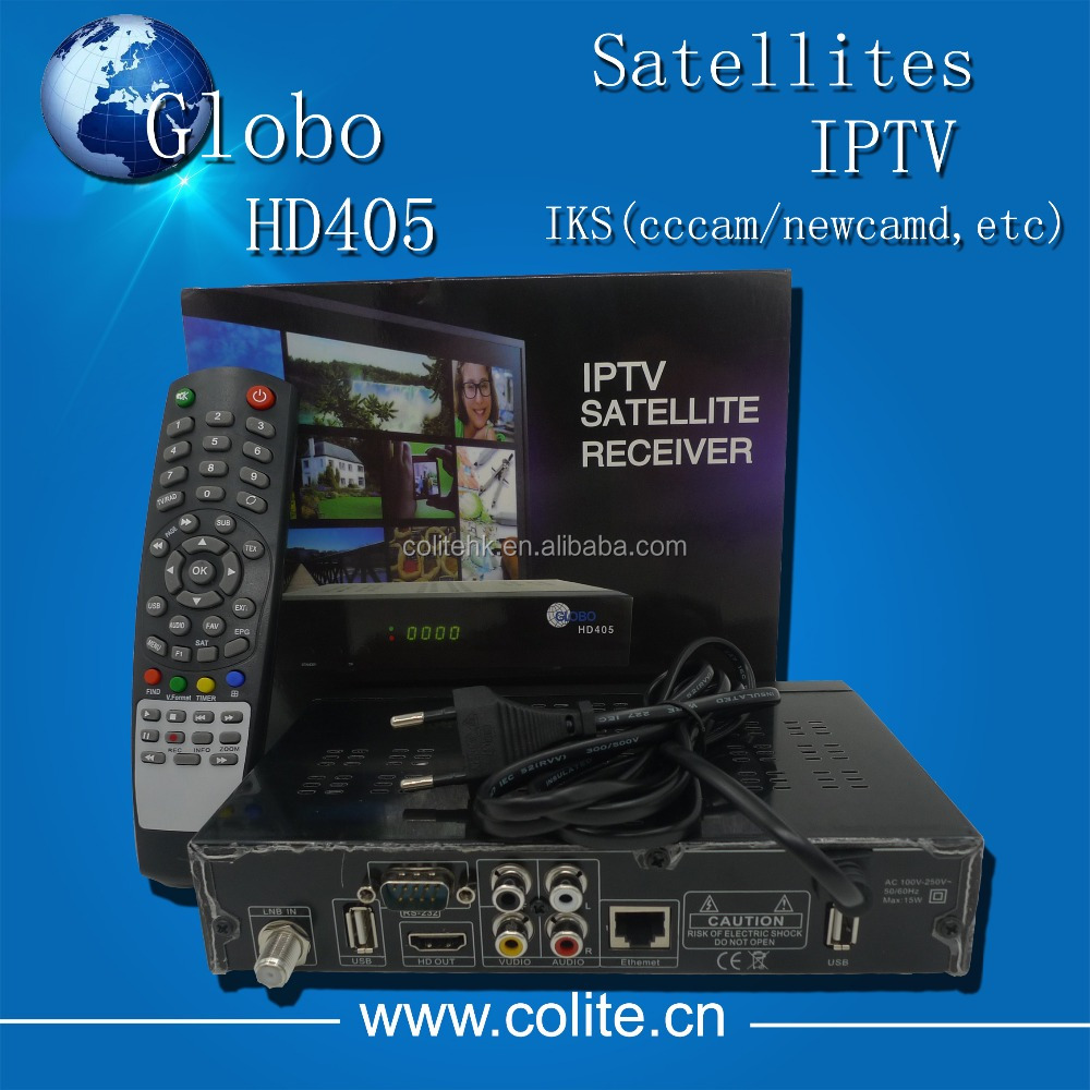 IPTV Satellite Receiver Globo HD405 Auto Run Powervu Support Youtube Youporn