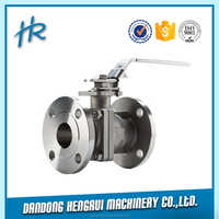 Sanitary butterfly valves with pneumatic actuator