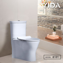 Nice design siphonic one piece sanitary ware wc toilet water saving clean toilet