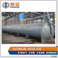 Henan honor professional Autoclaves Kettle , aac brick making production line