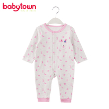 Manufacturer produce European style Wholesale cotton baby romper
