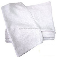 Cotton White Terry Cloth Restaurant Bar Mops Towels