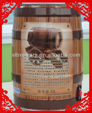 5l tinplate new beer barrel