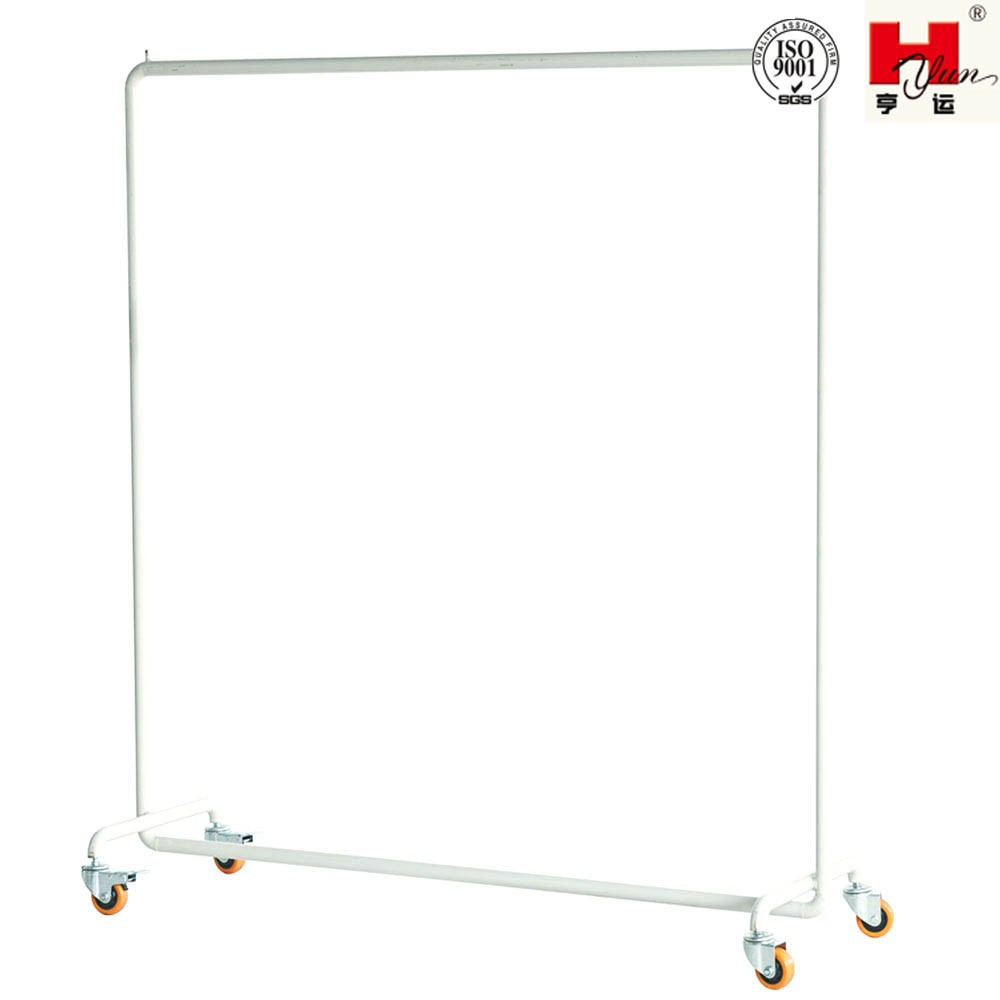 Industrial Free Standing Clothes Hangers Hanging Trolley