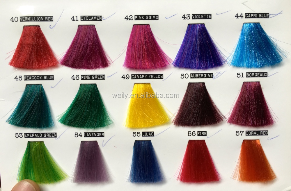 Crazy Color Fire Semi Permanent Hair Color Cream Edgyeasy And