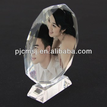 201 High Quality Personalized Beautiful Crystal Photo Frames For