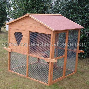 ZPCC2062 Large Wooden Pet Cages Houses Rabbit Cage Mobile chicken coop