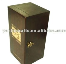 Customized wooden wine box
