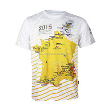 italy ink sublimation printing custom blank outdoor wear map t shirt